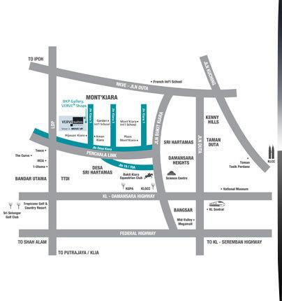 Map of The Vercadicos SOHO