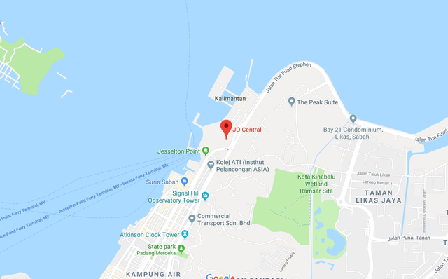 Map of Unique Water-front Residences