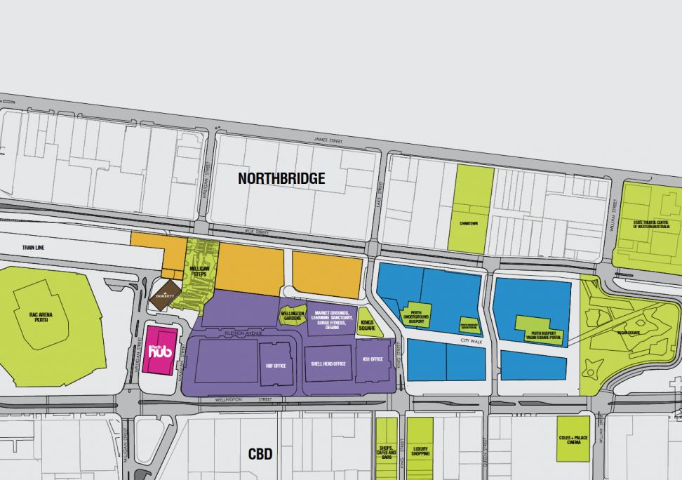 Map of Perth Hub