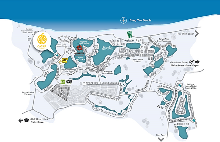 Map of Cassia Residences