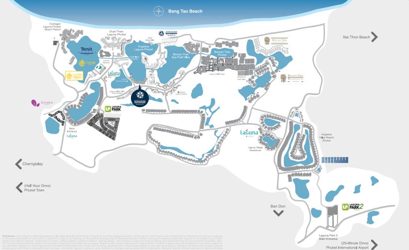 Map of Angsana OceanView Residences