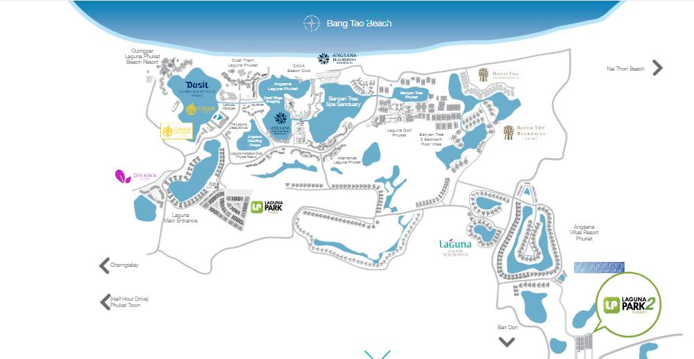 Map of Laguna Park 2