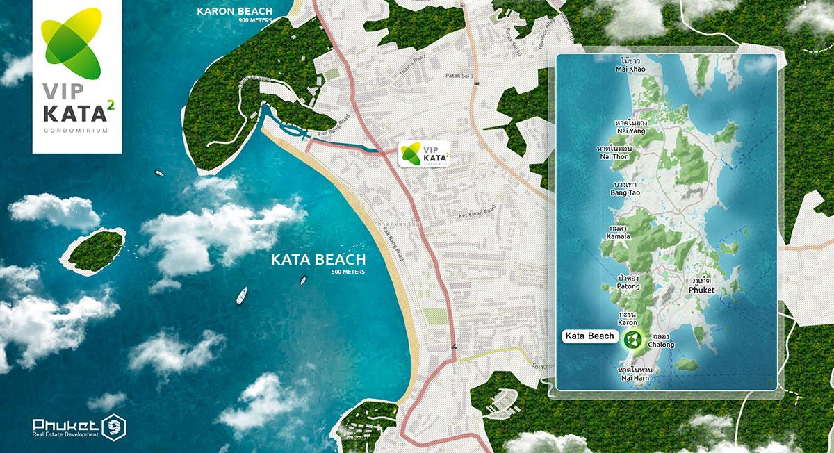 Map of VIP Kata2 Condominium