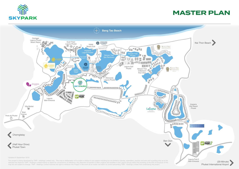 Map of Sky Park