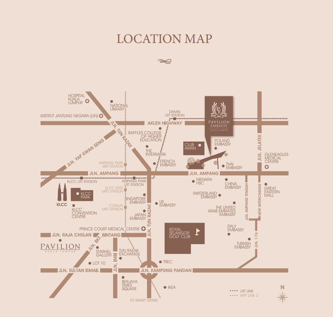 Map of An Address of Distinction