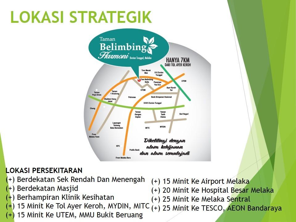 Map of Taman Belimbing Harmoni