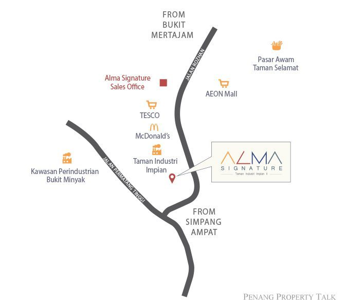 Map of Central Of Vast Business Opportunities