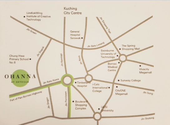 Map of Ohanna @ Skyvilla Residence