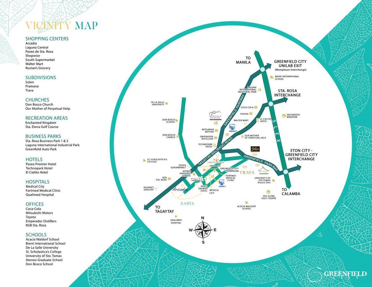 Map of Zadia
