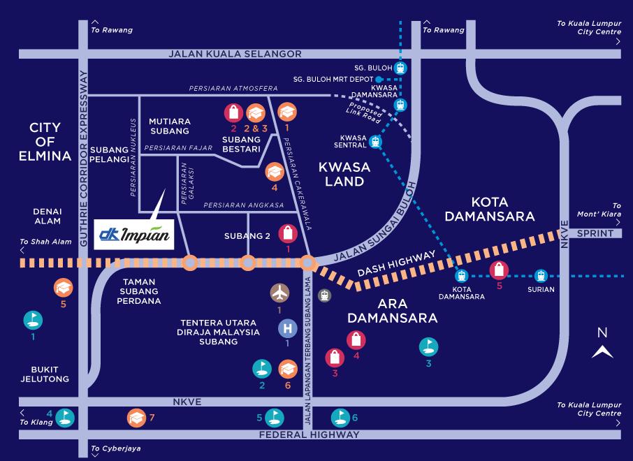 Map of Urban Dual-Key Suites