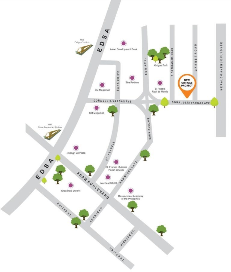 Map of The Spectrum, Ortigas