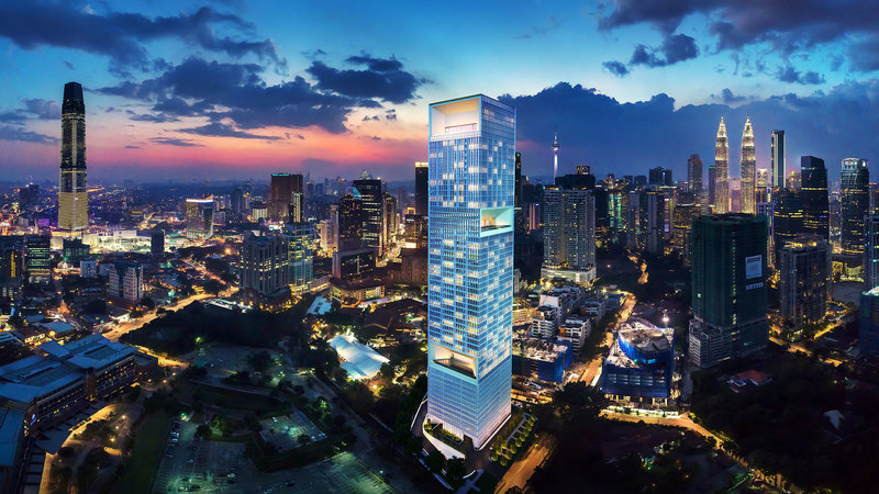 Calm and Elegant Urban Resort In The Heart Of A Vibrant Metropolis