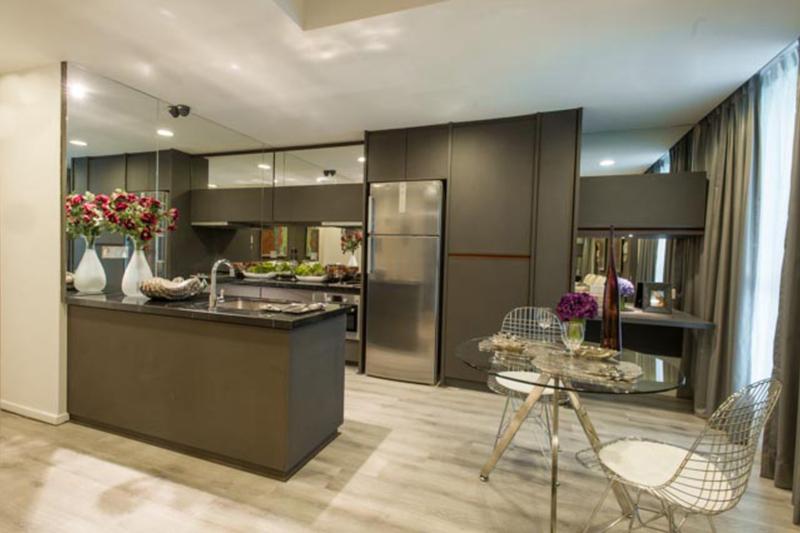Designer condominium