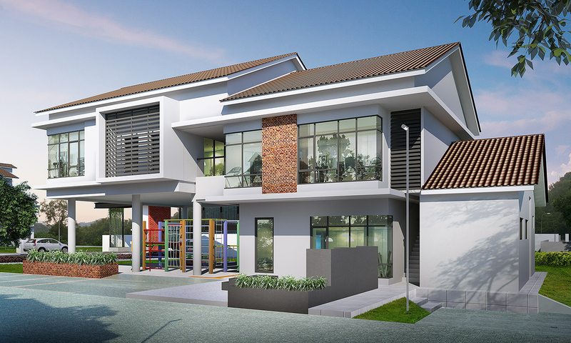 Beautiful Homes In A Secured Environment