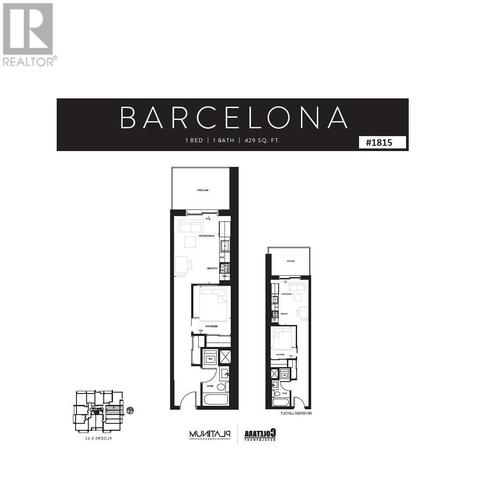 15 Queen St S1815 Floor plan #1