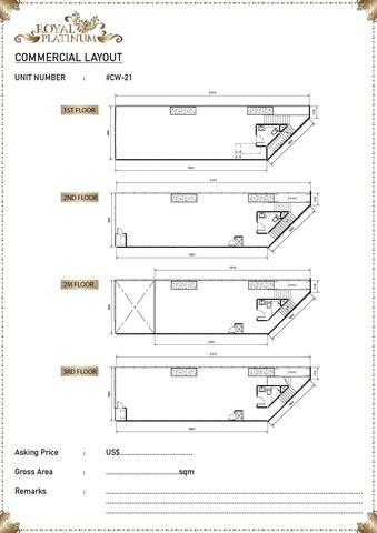 Royal Platinum  Floor plan #3