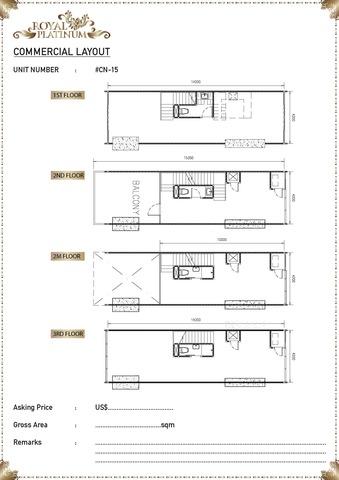 Royal Platinum  Floor plan #1