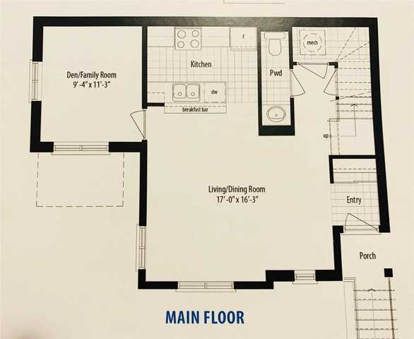 250 Sunny Meadow(Lot 97) Blvd46 Floor plan #1