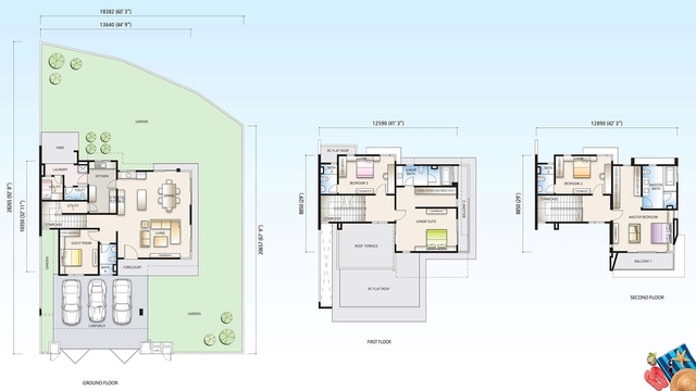 Twin Palm Sungai Long, Bukit Palma Floor plan #1