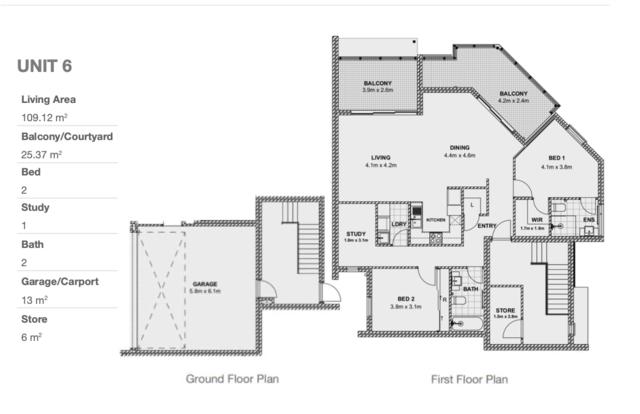 Mode Floor plan #1