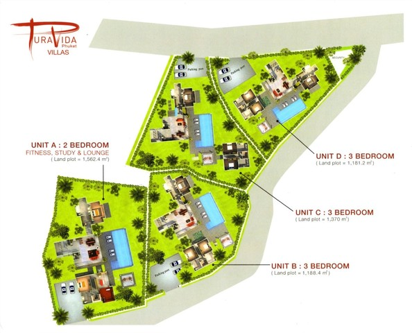 A BOUTIQUE VILLA CLOSE TO NAI YANG BEACH AND PHUKET AIRPORT FOR SALE. Floor plan #2