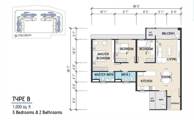 SUNGAI ARA | 1000sqft Waterpark Condominium | Own With Only RM1,000 Low Cash Usage