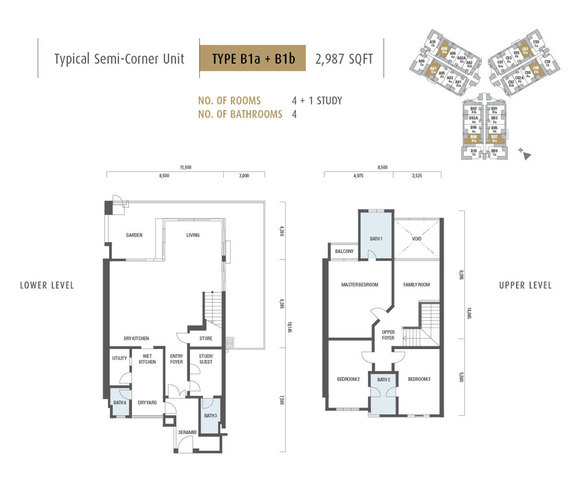 ARMANEE TERRACE II Floor plan #1