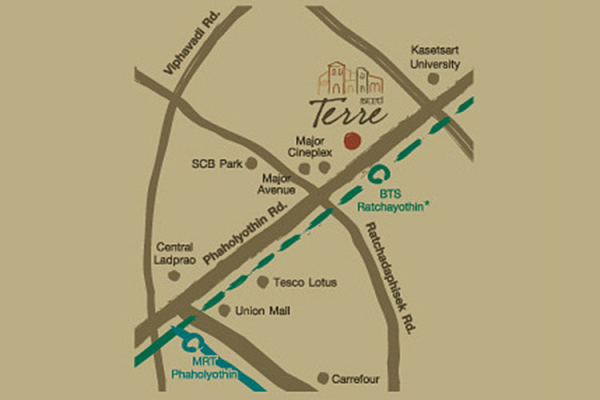 Condo The Seed Terre Ratchayothin,Paholayothin Rd.,Chatuchak