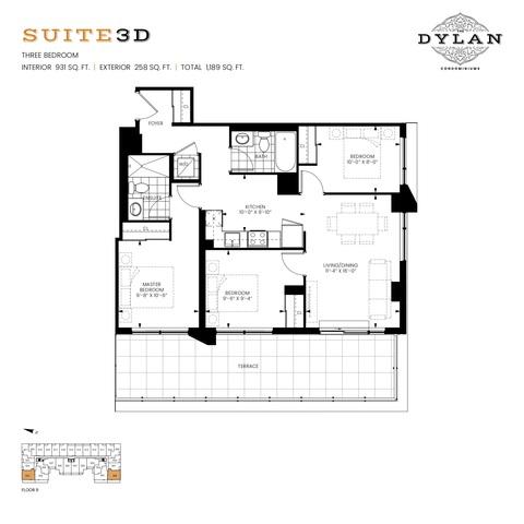 The Dylan Condominiums Floor plan #1