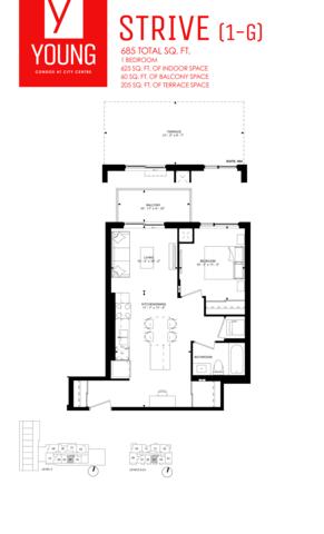 Young Kitchener Floor plan #3