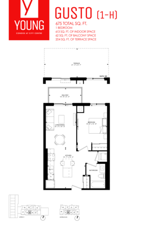 Young Kitchener Floor plan #2