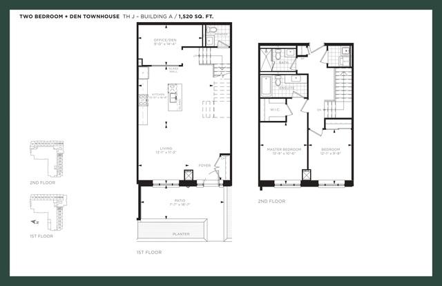 9th & Main Condos Floor plan #3