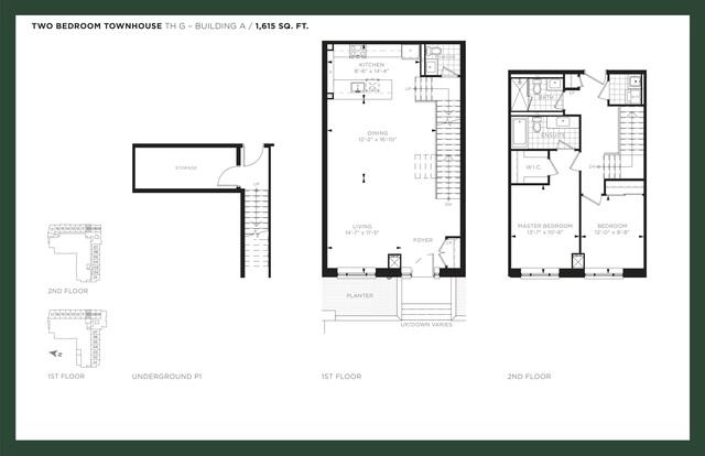 9th & Main Condos Floor plan #2