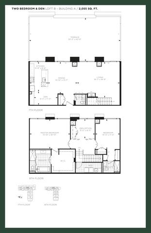 9th & Main Condos Floor plan #1