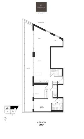Terrasse Condos Floor plan #3