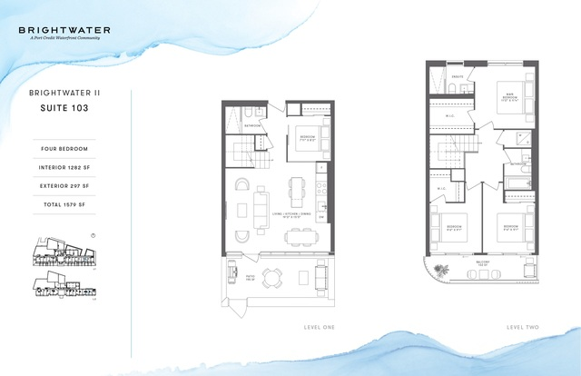 Brightwater Towns Floor plan #3