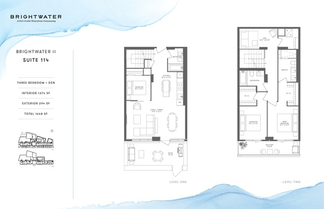 Brightwater Towns Floor plan #1
