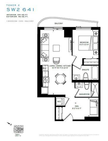 SXSW Tower 2 Condos Floor plan #2