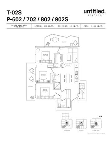 Untitled Toronto Condos Floor plan #2