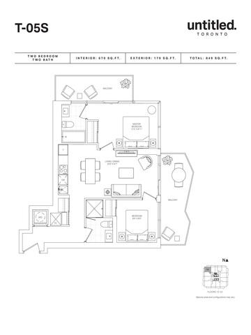 Untitled Toronto Condos Floor plan #1