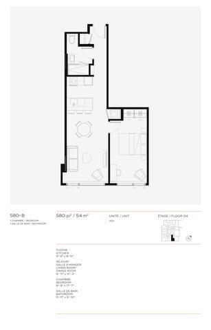 Quinzecent Condominiums Floor plan #2