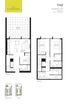 Canary Commons Floor plan #2