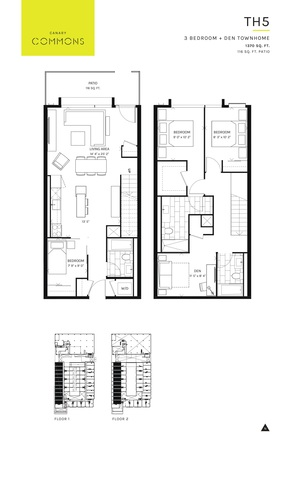 Canary Commons Floor plan #1
