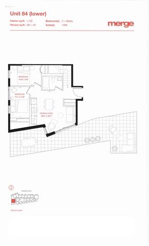 Merge Condos Floor plan #3