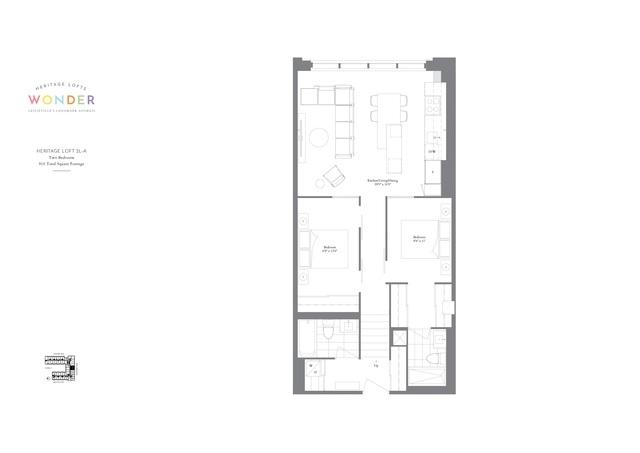 Wonder Condos Floor plan #3
