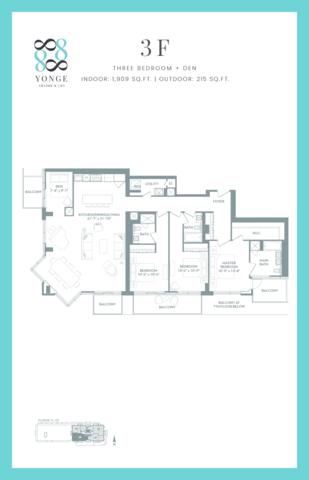 8888 Yonge Condos Floor plan #2
