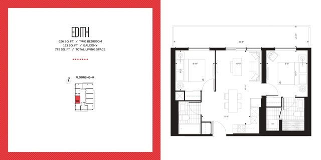 E2 Condos Floor plan #2