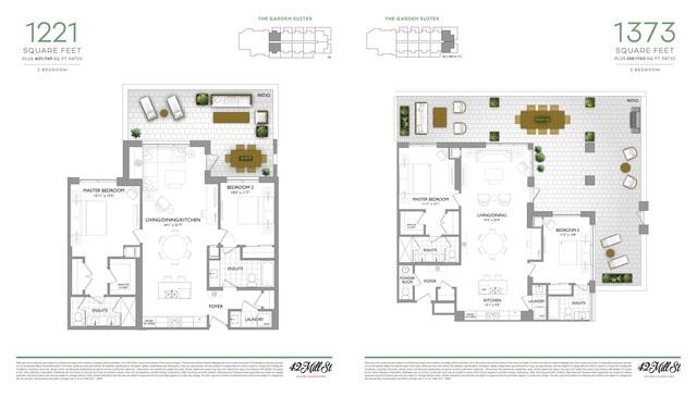 42 Mill Street Condos Floor plan #1