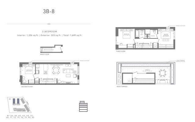 Clonmore Urban Towns Floor plan #3