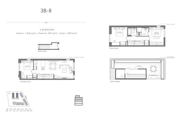 Clonmore Urban Towns Floor plan #3